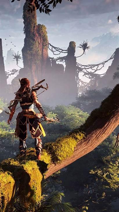 Horizon Zero Dawn Action Playing Role E3