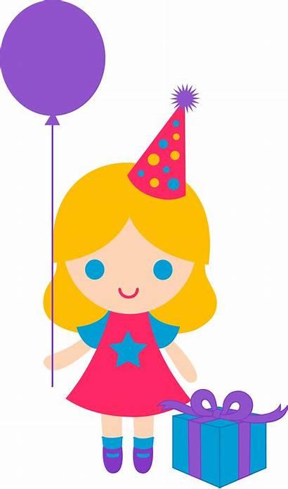 Birthday Clipart Blonde Clip Happy Present Panda