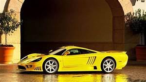 2015 Yellow Ferrari Car HD Wallpaper StylishHDWallpapers