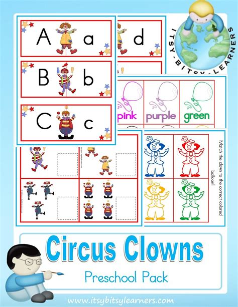 circus preschool activities circus carnival theme nurseries circus carnival clowns 391