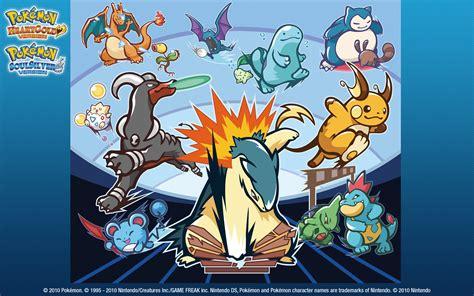 Pokemon Soulsilver Images Hgss Wallpaper Hd Wallpaper And