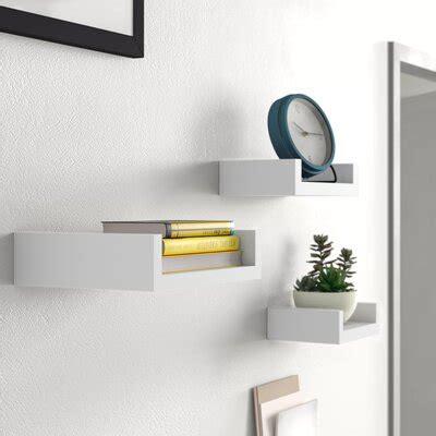 wall display shelves youll love   wayfair