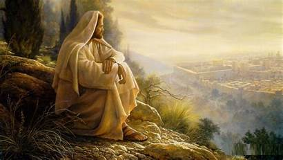 Jesus 4k Christ Sitting Wallpapers