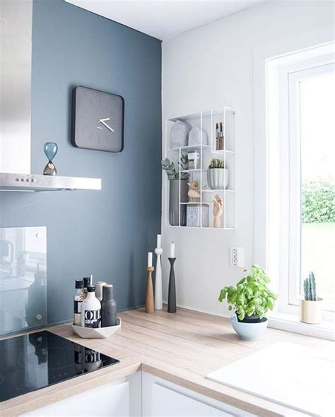 cuisine bleu gris 8 idées pour adopter bleu gris couleur de l 39 ée 2017
