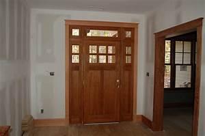 Front doors interior front door trim interior front door for Interior trim and door color ideas