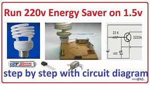 How To Run 220v Energy Saver On 1 5v
