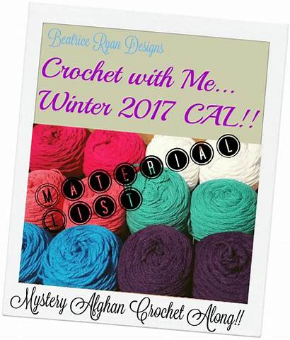 Crochet Cal Winter Material Beatriceryandesigns Books