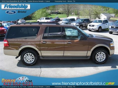2012 Ford Expedition Xlt by 2012 Ford Expedition El Xlt 4x4 Golden Bronze Metallic