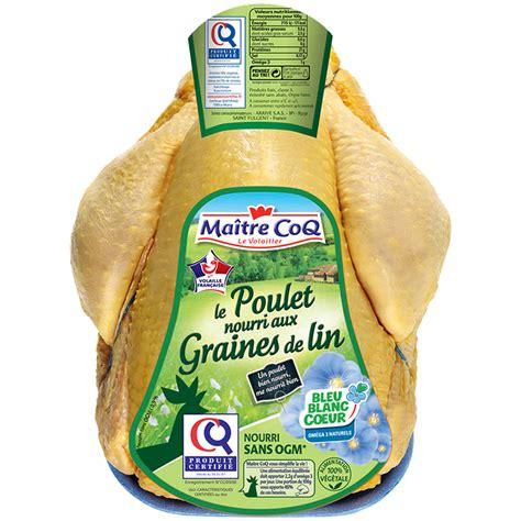 cuisiner poulet entier poulet entier certifié graines de maître coq