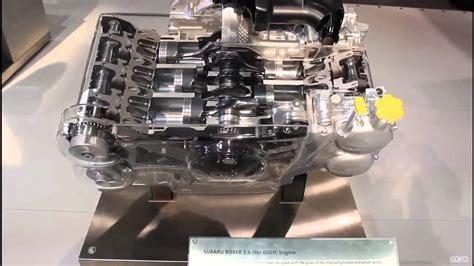 cias  subaru  boxer engine cutaway youtube