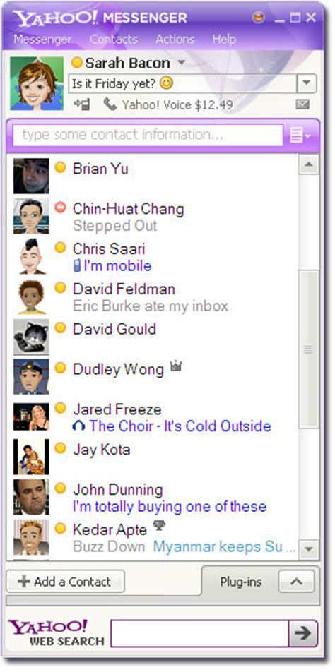 Yahoo Messenger Update Brings Bigger Emoticons, Games