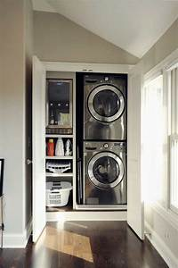 laundry closet ideas 25 Ideas To Hide A Laundry Room - Amazing DIY, Interior ...