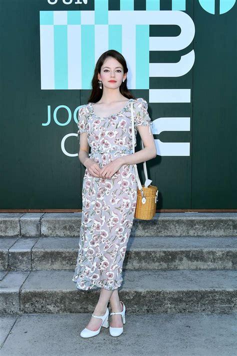 Mackenzie Foy attends Miu Miu Club event at Hippodrome d ...