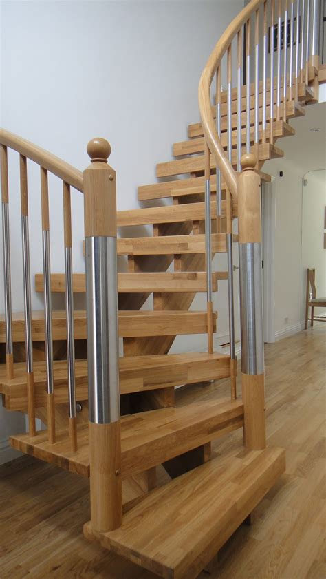 Contemporary Timber Staircase - BirminghamTimber Stair Systems