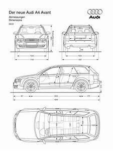 Dimension Audi A4 : audi a4 interior dimensions ~ Medecine-chirurgie-esthetiques.com Avis de Voitures