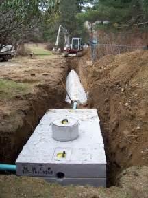 Septic Tank Drain Field Installation