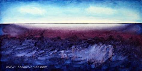 Custom Abstract Art - Indigo, Blue & Violet - Calming