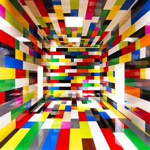 Behind the Life-Size Lego Room Illusion