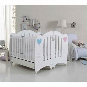 Lit Du Futur : lits b b pour jumeaux wonderful de micuna id e pour futur lit bebe bebe et jumeaux ~ Melissatoandfro.com Idées de Décoration