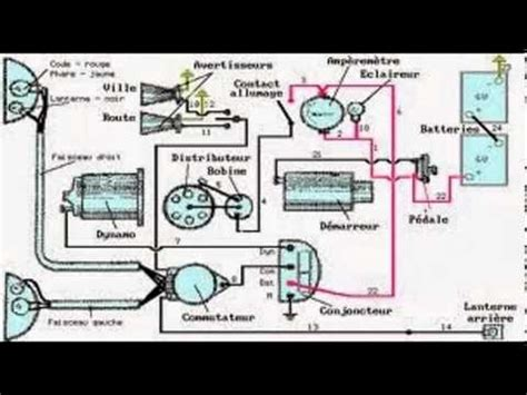 schema electrique autoradio youtube