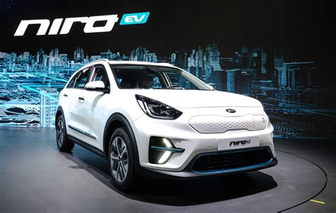 2019 Kia Niro Ev Debuts With 210 Horsepower, 280 Miles Of