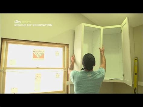 Cabinet Installation Quicktips  Rescue My Renovation