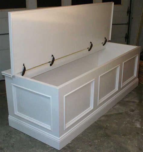 These provide the major structural support for the bench. window seat that's not built in. Love the storage ...
