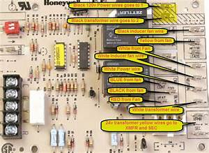 Honeywell Universal Furnace Control Board Wiring Diagram