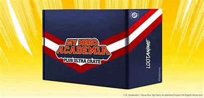 Hero Academia Plus Ultra Crate Loot Pre