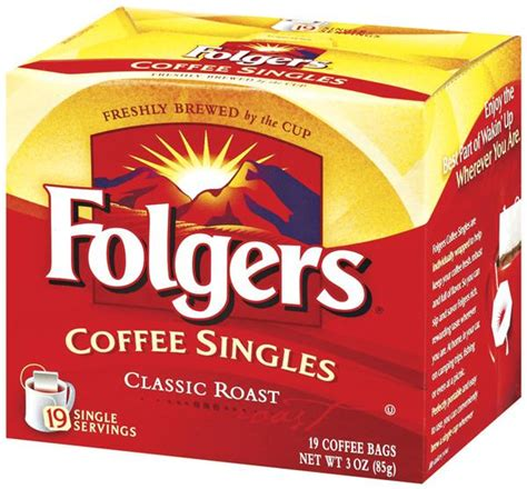 10 best folgers coffees of march 2021. Folgers Classic Roast Coffee Singles 19Ct   Hy-Vee Aisles Online Grocery Shopping