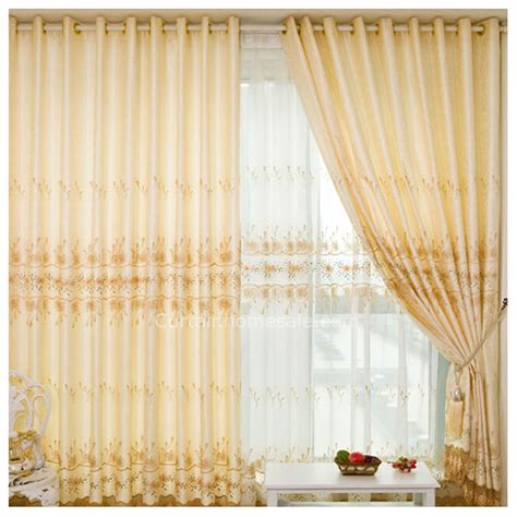 living room or dressing room curtains in coloured