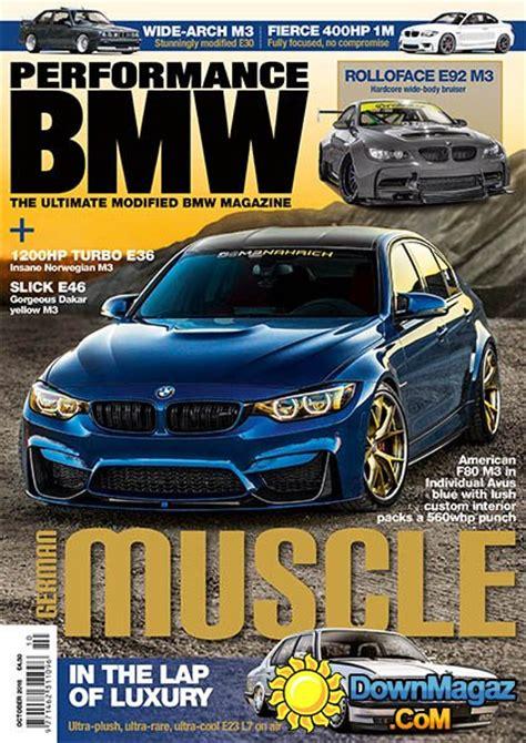 Performance Bmw  October 2016 » Download Pdf Magazines