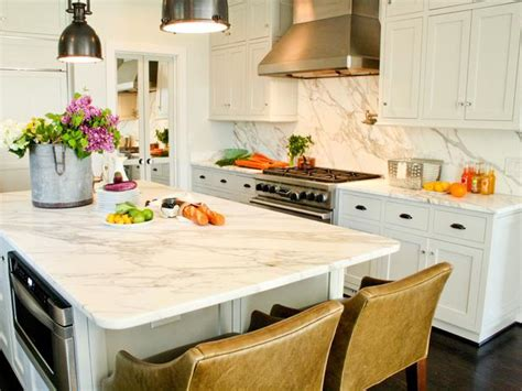 calcutta gold countertops transitional kitchen