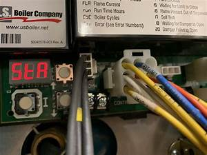 Hvac - How To Connect C-wire To Burnham Series 2 Boiler