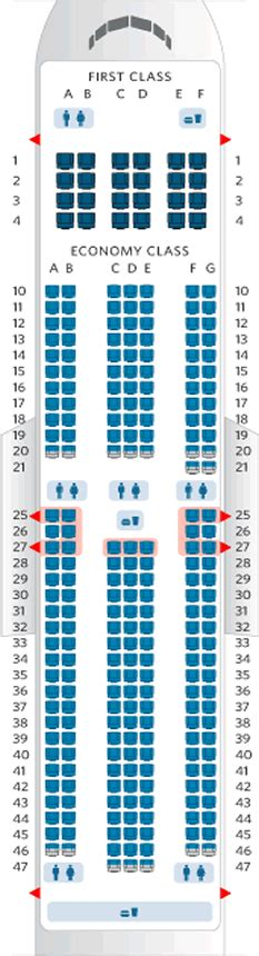 Delta Boeing 767 Seating Chart - Arenda-stroy on