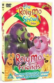 the roly mo show and friends dvd 2005 cbeebies dvd ebay
