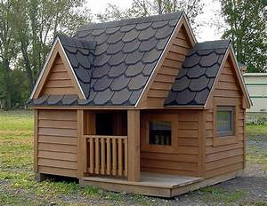 30 awesome dog house diy ideas indoor outdoor design photos for Large double dog house