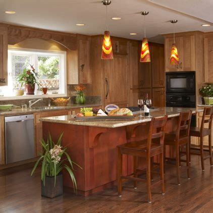 pendant lights for kitchen islands contemporary kitchen by harrell remodeling