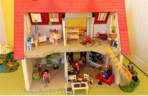 Gebraucht Playmobil Haus Komplett Eingerichtet In 95185