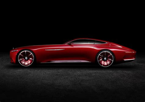 mercedes concept car vision mercedes maybach 6 is a stylish 750 hp electric
