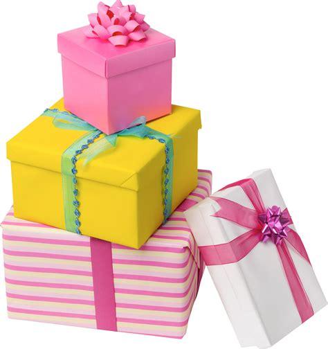 Подарки - Картинки на прозрачном фоне и png для фотошопа