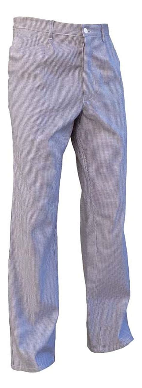pantalon pied de poule cuisine pantalon cuisine coton pied de poule elastique vetements