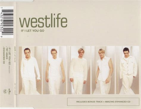 Westlife If I Let You Go Records, Lps, Vinyl And Cds
