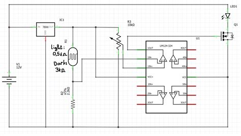 Led Will This Mosfet Switch Circuit Work Electrical