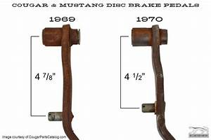 Brake Pedal - Power Brake - Manual Transmission