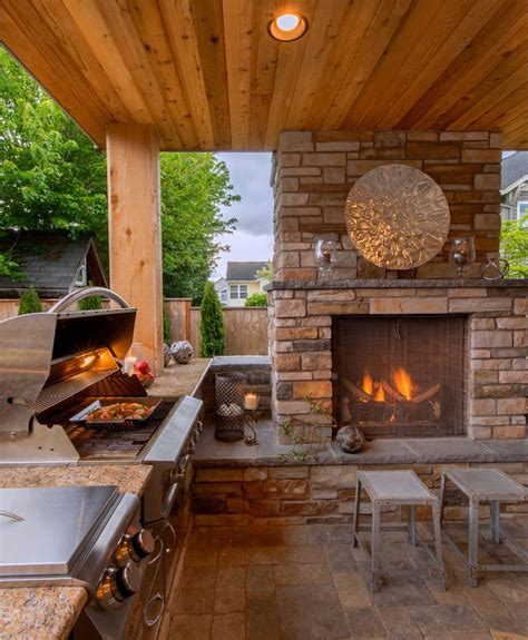 17 best ideas about outdoor fireplace patio on