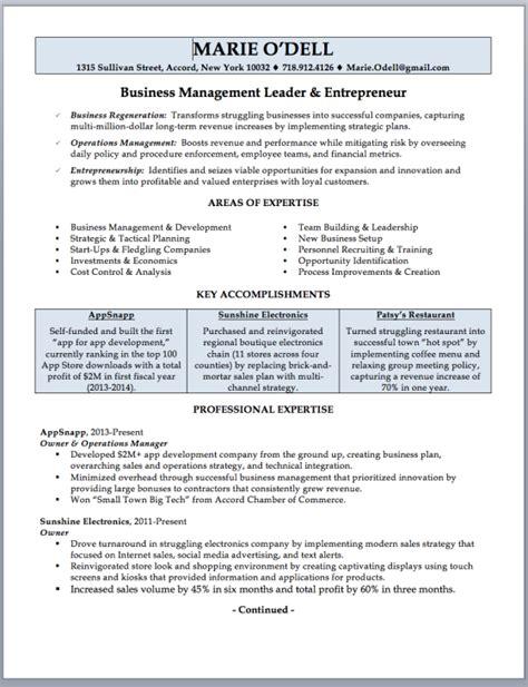 entrepreneur sle resume dillabaughs