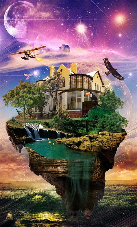 imagination home digital art  kenal louis
