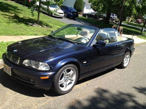 Purchase Used 2002 Bmw 330ci Convertible In Englishtown