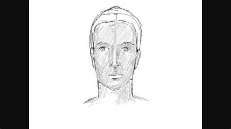 comment dessiner un homme assis dessin d 180 un visage d 180 homme comment dessiner